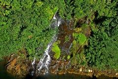 Wielka chilean rzeka zdjęcia royalty free