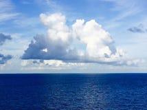 wielka chmura fluffy Obraz Royalty Free