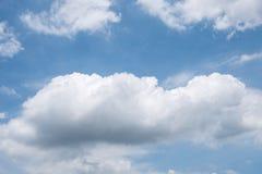 Wielka cumulus chmura fotografia stock