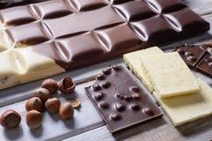 Wielka czekolada Zdjęcia Stock