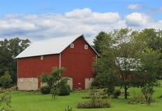 wielka czerwona stodoła Fotografia Stock