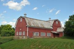 wielka czerwona stodoła Zdjęcie Stock