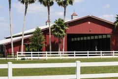 wielka czerwona stodoła Obrazy Stock