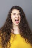 Wielka dama krzyczy przy tobą Zdjęcie Stock