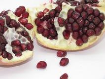 Wielka dotacja owoc na białym tle odizolowywającym obrazy stock