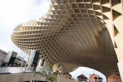 Wielka drewniana struktura w świacie obraz royalty free