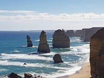 wielka droga australii oceanu Obraz Royalty Free