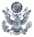 Wielka foka Stany Zjednoczone srebro Zdjęcie Stock