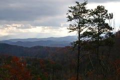 wielka góra park narodowy wędzone zdjęcia stock