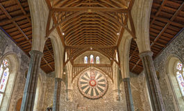 Wielka Hala Winchester kasztel w Hampshire, Anglia obrazy royalty free