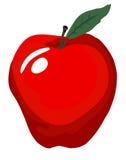 wielka jabłczana czerwone. Fotografia Royalty Free