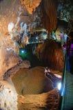 Wielka jama, Grotta di Su Mannau, Fluminimaggiore, Sardinia Fotografia Stock
