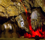 wielka jaskinia Zdjęcia Royalty Free