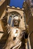 wielka John Paul pope statua zdjęcie stock