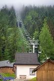 Wielka Krokiew narciarskiego doskakiwania arena w Zakopane Obrazy Royalty Free