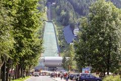 Wielka Krokiew ski jump Royalty Free Stock Photos