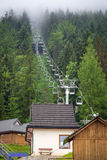 Wielka Krokiew ski jumping arena in Zakopane Royalty Free Stock Images