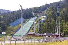 Wielka Krokiew ski jumping venue in Zakopane, Poland Stock Photography