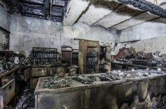 wielka kuchnia po ogienia zdjęcia stock