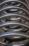 Wielka metal spirala zdjęcia royalty free