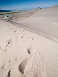 Wielka piasek diuna  obrazy stock