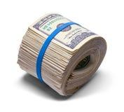 Wielka pieniądze rolka fotografia stock