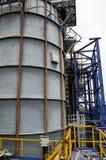 Wielka pojemność dla petrochemicznego przemysłu zdjęcie stock