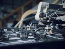 Wielka Przemysłowa drukarka W druku sklepie obrazy stock