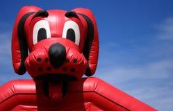 wielka psia czerwony Obrazy Royalty Free