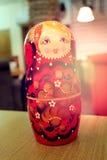 Wielka Rosyjska gniazdować lala Zdjęcie Royalty Free