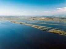 wielka rzeka Trutnia punkt widzenia zdjęcie royalty free