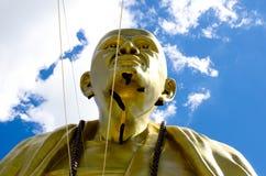Wielka statua kruba Siwichai w Doi ti świątyni Obrazy Royalty Free