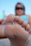 wielka stopa Zdjęcie Stock