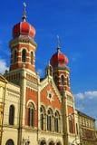 Wielka synagoga, od architektura, Pilsen, republika czech Obrazy Stock
