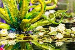 Wielka szklana rzeźba Obraz Royalty Free