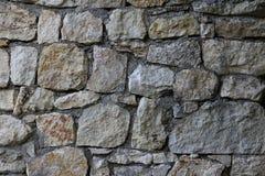 Wielka szorstka naturalna kamiennej ściany bezszwowa tekstura dla projekta tła Fotografia Stock