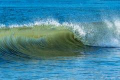 Wielka toczna ocean fala zdjęcie royalty free