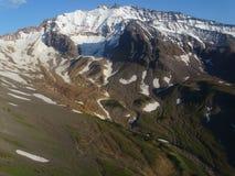 Wielka wycieczka Kamchatka Tajemniczy miejsca zdjęcia stock