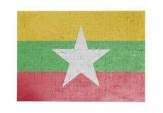 Wielka wyrzynarki łamigłówka 1000 kawałków - Myanmar Zdjęcie Royalty Free