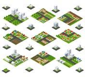 Wielka zestaw metropolia ilustracja wektor