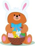 Wielkanoc bear Obraz Royalty Free