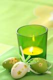 Wielkanoc candle fotografia stock