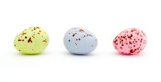 Wielkanoc czekoladowe cukierki jajko Obrazy Stock