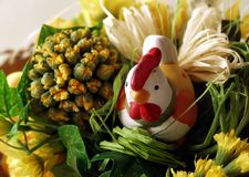 Wielkanoc dekoracji Zdjęcia Royalty Free
