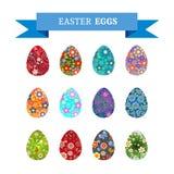 Wielkanoc eggs-03 Obrazy Stock