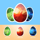 Wielkanoc eggs-10 Obrazy Stock