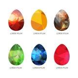 Wielkanoc eggs-08 Obraz Royalty Free