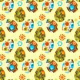 Wielkanoc eggs-04 Obrazy Royalty Free