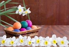 wielkanoc jaj trawa zieleni świąteczna dekoracja Fotografia Royalty Free