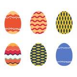wielkanoc jajka odłogowania Zdjęcie Stock